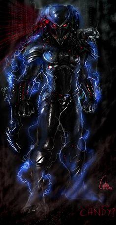 Predator the Candy man by cantas78 on deviantART