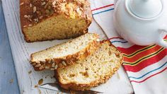 Banana bread: Can't resist that cafe-style banana bread? Why not make your own healthy loaf? This one is only 5 ProPoints values per serve!