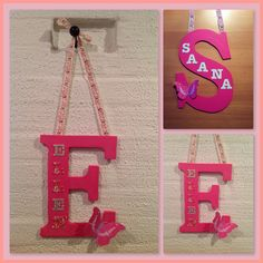 AI / Wall-hanging decorated initial letters.