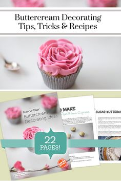 "Craftsy's ""Buttercream Decorating"" free PDF eGuide gives you 22 pages of tips, tricks and recipes from sought-after cake decorators. From unique buttercream flavors to pretty piped flowers, this eGuide will help you unlock your sweet creativity to create eye-popping designs that are bowl-licking good!"