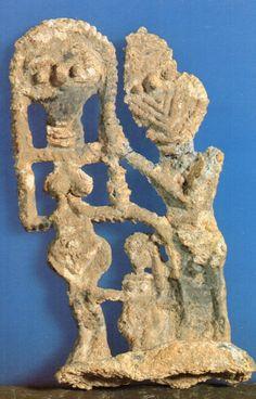 Hettite, metal figures, Got and Goddess, Acemhöyük (Belma Kulaçoğlu) (Erdinç Bakla archive)