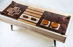 The NES coffee table… is this not the most pimpin' coffee table ever?