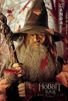 Ian McKellen as Gandalf in New Line Cinema& & Hobbit: An Unexpected Journey& - 2012 Legolas, Aragorn, Thranduil, Le Hobbit Film, The Hobbit Movies, Beau Film, Jrr Tolkien, The Hobbit Characters, Fantasy Movies