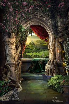 The Princess Balcony fairytale background image 2 Fantasy Places, Fantasy World, Dark Fantasy, Episode Interactive Backgrounds, Episode Backgrounds, Fantasy Background, Background Images, Castle Background, Scenery Background