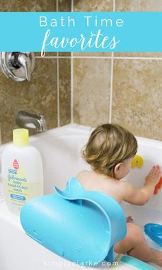 Toddler Bath Time Favorites - Simply Clarke #buybuybaby #babyhood #sponsored