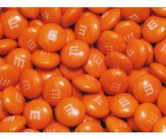Orange M&M's - 5lb Bulk All-Orange M&M's Milk Chocolate - Candy Direct