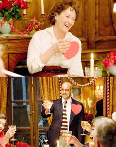Valentine's dinner with Paul & Julia Child in Julie & Julia