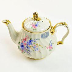 Sadler Teapot, England, Transferware, 2748Q, Near Mint