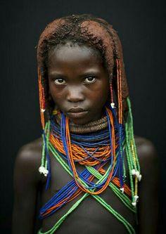 Angola: Tribu Mwila.