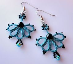 (chiacchierino)Yarnplayer's Tatting Blog: earrings