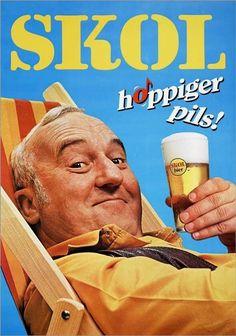 Piet Bambergen #televisie #vroeger #herinneringen #nostalgie #zoeken Beer Advertisement, Retro Advertising, Advertising Signs, Vintage Advertisements, Vintage Labels, Vintage Ads, Vintage Posters, Beer Poster, Poster Ads