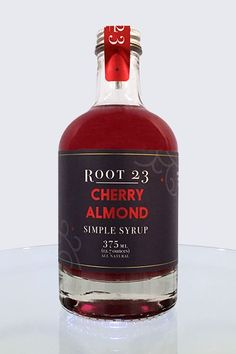 The cherry almond flavor is heavenly, and adds the perfect warmth to your holiday cocktails.Pairs well with bourbon, vodka or rum. Ingredients: Organic cane s