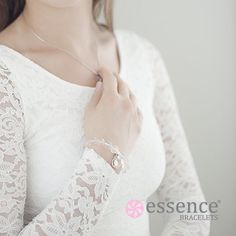 Essence Bracelet of LOVE. Beautifully handmade with natural gemstones of Rose Quartz and Green Jade to bring you healing to your heart, aid spiritual growth and expand self love. To see our full collection of healing inspired jewelry, visit us at http://www.essencebracelets.com/shop/