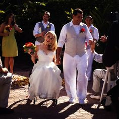 Teal's Wedding Day! >>> See it. Believe it. Do it. Watch thousands of SCI videos at SPINALpedia.com