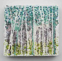 aspen? Spring Forest, Aspen Colorado, Encaustic Painting, Altered Art, Birch Forest, Collage, Mix Media, Fun, Teacher