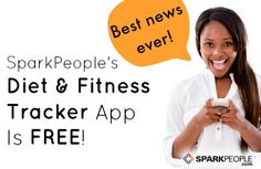 SparkPeople's Diet and Fitness Tracker App: Now Free At Last! via @SparkPeople