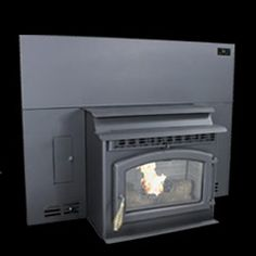 Breckwell Standard Black Pellet Stove Insert new, older stock - limited quantities available.Traditional Look in a Smaller StoveImpressive Value Flashing / Surround Sizes: Medium = x Large = x Standard Features:Up to Wood Burning Stove Insert, Pellet Stove Inserts, Hearth, Home Appliances, Outside Wood Stove, Log Burner, House Appliances, Home