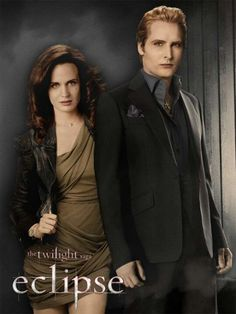 """And here is the second part of my project: Carlisle and Esme """"promo"""" picture for Eclipse. I hope you like it And Breaking Dawn Part 1 and 2 will also co. Esme and Carlisle - Eclipse The Twilight Saga Eclipse, Twilight Saga Series, Twilight New Moon, Twilight Movie, Twilight Wolf, Kristen Stewart, Nikki Reed, Taylor Lautner, Robert Pattinson"""