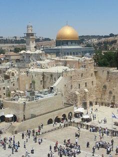 """Jerusalem, Palestine """"Orai pela paz de Jerusalém! Prosperarão aqueles,que te amam."""" Sl.122:8"""