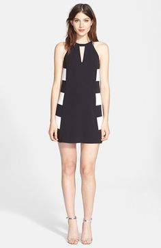 Parker+'Parkdale'+Colorblock+Shift+Dress+available+at+#Nordstrom