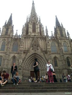 Cathedral of Santa Eulalia, Barcelona ,Catedral de Barcelona