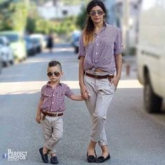 Mom and son outfits #mamivlog
