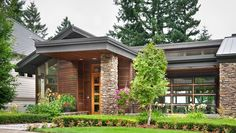 Contemporary House Plan 1410 The Norcutt: 4600 Sqft, 4 Beds, Baths House Plans And More, Dream House Plans, Small House Plans, House Floor Plans, Contemporary Style Homes, Contemporary House Plans, Midcentury Modern House Plans, Linwood Homes, 3d Home