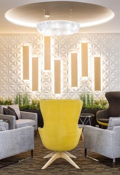 3d wall panels design in Hotel Bodrog