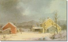 george henry durrie | new england