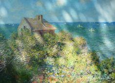 Claude Monet - La cabane du Douanier 1882
