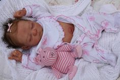 Exquisite reborn baby doll ♥Edley by Elisa Marx~tummy~