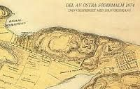 Gammal Karta över Tegelvikshamnen New Pictures, Old And New, 19th Century, Vintage World Maps