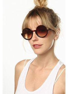 Cheap Oversized Sunglasses | Terra Half Frame Round Sunglasses | BleuDame.com Round Frame Sunglasses, Oversized Sunglasses, Optician, Prescription Lenses, Types Of Fashion Styles, How To Wear, First Aid