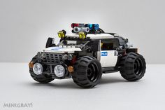 Is a police car..... | 就是一輛警車..... Is a police car..... | gray mini | Flickr
