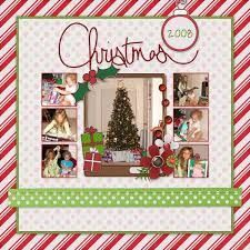 Image result for christmas scrapbook page #memoriesscrapbook