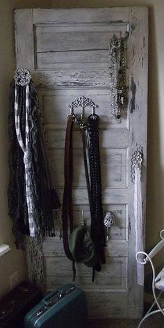 Old door to organizer