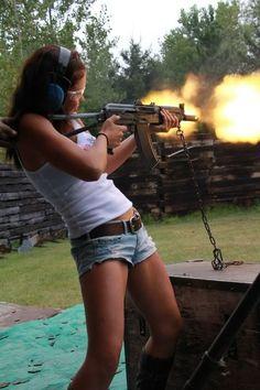 Country Girls with Guns Guns N Roses, Fire Powers, Big Guns, Armada, N Girls, Dangerous Woman, Guns And Ammo, Country Girls, Firearms