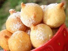 Воздушные пончики на кефире, рецепт с фото