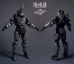 Halo 4 Suits by Steffen Unger, Airborn Studios on ArtStation at https://www.artstation.com/artwork/1nDaZ