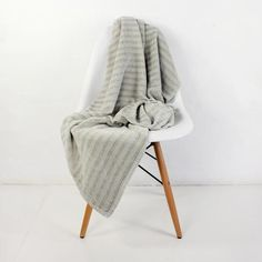 Mungo Bamboo Grove Throw – Pebble Stone from Winter Throws - R699 (Save 30%)