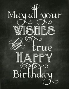 wishes .. on HB