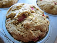 We were so excited about UnDiet: Meal Prep Made Easy, we decided to bake up a batch of these amazing Millet Rhubarb Muffins!