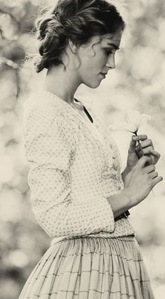 Keira Knightley. A woman who is able to revel in her innocence despite the horrors of this world is a genuine treasure.