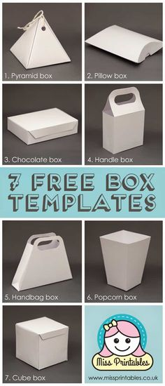 - Baskets and Boxes - 10 Genius Gift Wrapping Hacks free printable box templates. Printable Box, Gift Box Templates, Box Templates Printable Free, Free Printables, Paper Box Template, Paper Craft Templates, Diy Envelope Template, Origami Templates, Envelope Design