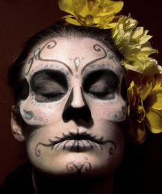 Day of the Dead Costumes | images of day of the dead themed costumes and makeup socialphy ...
