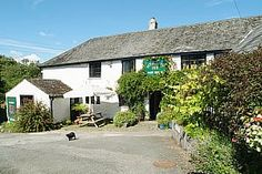 Peter Tavy Inn. Quintissentially 'Olde Worlde' pub. Charming 15th  century building, open fires, flagstone floors, good beer, good food, lovely location.