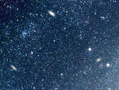 Distant galaxies behind NGC 300
