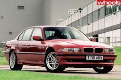 BMW E38 Series Sport.
