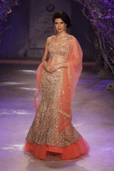 http://JyotsnaTiwari.com/ collection at BMW @IndiaBridalWeek #IBFW2014