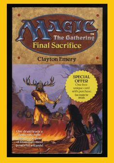 Magic The Gathering Final Sacrifice by Clayton Emery 1995 Paperback 0061054208 | eBay
